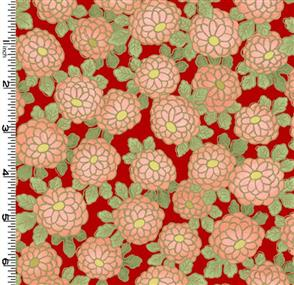Kona Bay  Fabric - EXOT-03 Red