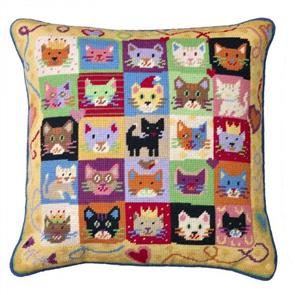 Jolly Red Tapestry Kit - Kitten Caboodle