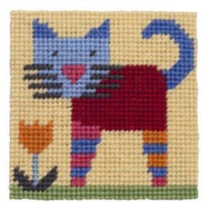 Jolly Red Kids Tapestry Kit - Moggins
