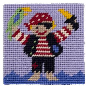 Jolly Red  Kids Tapestry Kit - Pirate