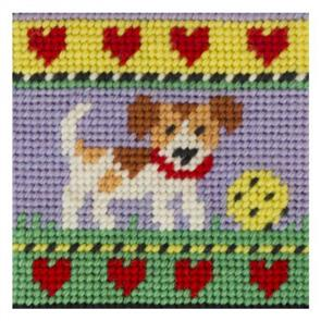 Jolly Red  Kids Tapestry Kit - Puppy