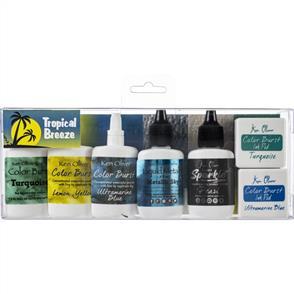 Ken Oliver  Color Burst Powder - Tropical Breeze