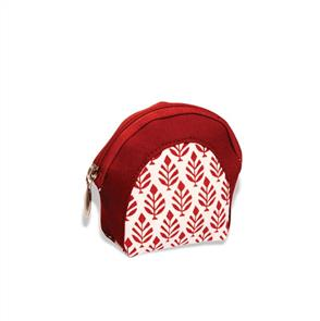 Knitpro Knit Pro - Stitch Marker Pouch - Reverie Burgundy