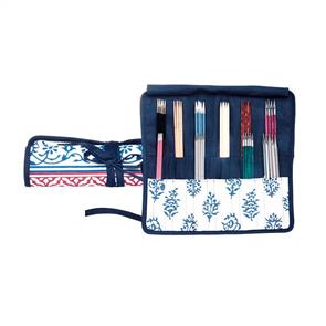 Knitpro  Knit Pro - Double Pointed Needle Case - Navy