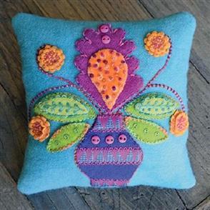 Sue Spargo Canna Blossom Pincushion Pattern