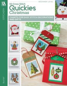 Leisure Arts  50 Cross Stitch Quickies Christmas