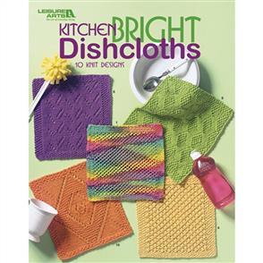 Leisure Arts  Kitchen Bright Dishcloths