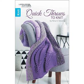 Leisure Arts  Quick Throws To Knit
