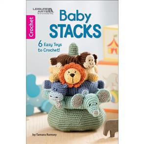 Leisure Arts - Baby Stacks - Crochet Book