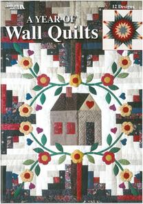 Leisure Arts  A Year Of Wall Quilts