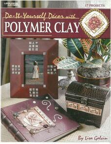 Leisure Arts  Diy Decor With Polymer Clay