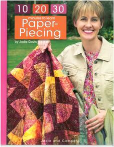 Leisure Arts  10 20 30 Minutes to Learn Paper Piecing