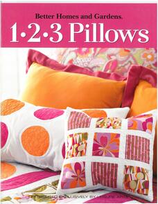 Leisure Arts  1-2-3-Pillows
