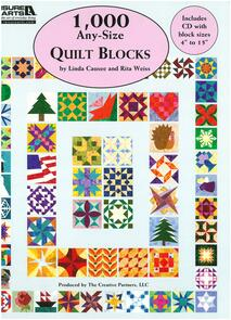 Leisure Arts  1000 Any-Size Quilt Blocks