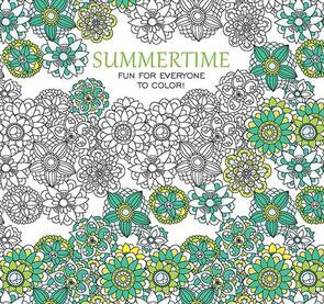 Leisure Arts  Art Of Coloring - Summertime