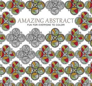 Leisure Arts Art Of Coloring - Amazing Abstract