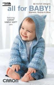 Leisure Arts  All For Baby - Crochet Book