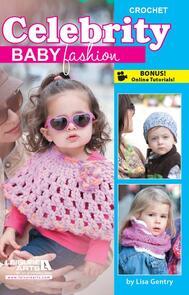 Leisure Arts  Celebrity Baby Fashion - Crochet Book
