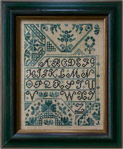 La-D-Da Cross Stitch Chart - Quaker Alphabet