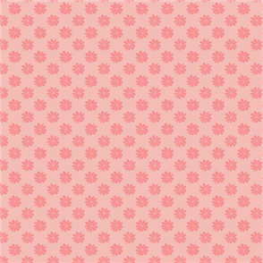 Liberty  Fabric - Floral Dot Pink