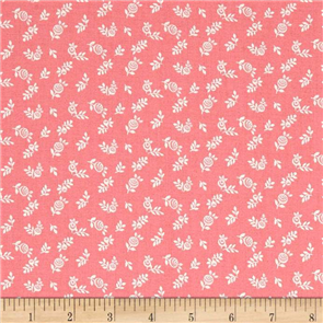 Liberty  Fabric - English Berry Coral