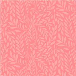 Liberty  Fabric - Leaf Trail Pink
