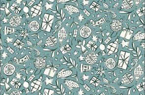 Liberty  Christmas Fabrics Festive Cheers LB0477.5663X