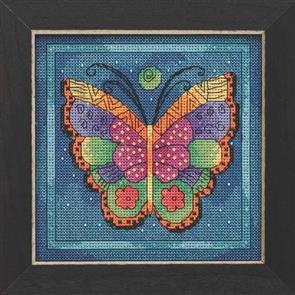 Mill Hill  Bead & Cross Stitch Kits: Butterfly Capri