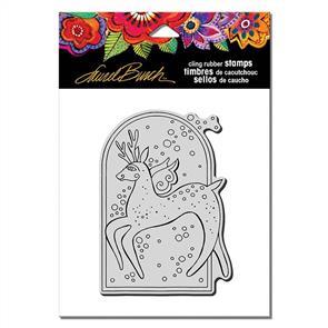 Laurel Burch Rubber Stamps - Reindeer Spirit