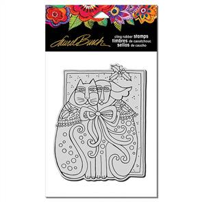 Laurel Burch Rubber Stamps - Kindred Holiday