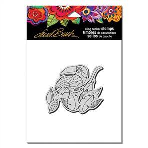 Laurel Burch Rubber Stamps - Toucan