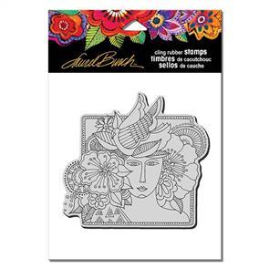 Laurel Burch Rubber Stamps - Woman Spirit