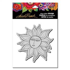 Laurel Burch Rubber Stamps - Sister Sun