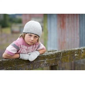Lisa F  Little Cupcakes LC18 Copper Beanie and Mittens
