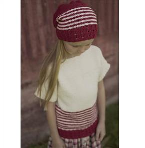 Lisa F  Little Cupcakes LC34 Scarlet Rose Top and Hat
