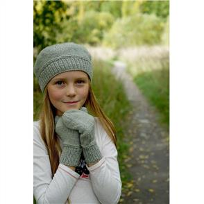 Lisa F  Little Cupcakes Alyssa Beret and Mittens - LC36