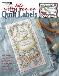 Leisure Arts  50 Nifty Iron-On-Quilt Labels