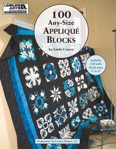 Leisure Arts  100 Any Size Applique Blocks