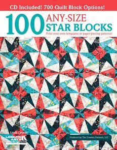 Leisure Arts  100 Any-Size Star Blocks