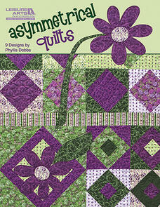 Leisure Arts  Asymmetrical Quilts