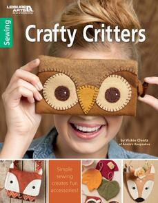 Leisure Arts  Crafty Critters