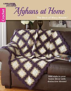 Leisure Arts  Afghans At Home