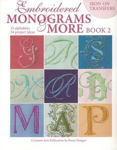 Leisure Arts  Embbroidery Monograms & More Bk2