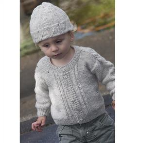 Lisa F  Little Cupcakes LF14 Cable Jacket with Shoulder Saddle and Hat