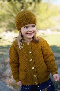 Lisa F Little Cupcakes LF36 Rowan Cardi and Hat