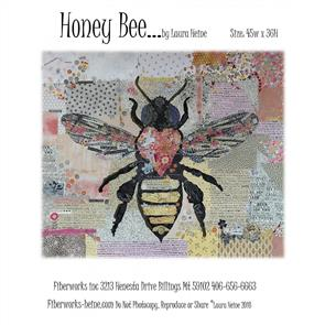 Fiberworks Collage Pattern: Honey Bee