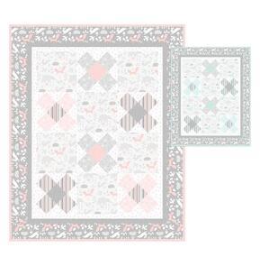 Northcott  Little Gem Quilt Kit featuring Hello Little One fabrics by