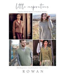 Rowan  Books - Little Inspirations : Timeless Felted Tweed