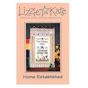 Lizzie Kate Cross Stitch Chart - Home Established