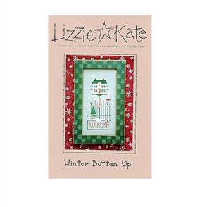 Lizzie Kate  Cross Stitch Chart - Winter Button Up